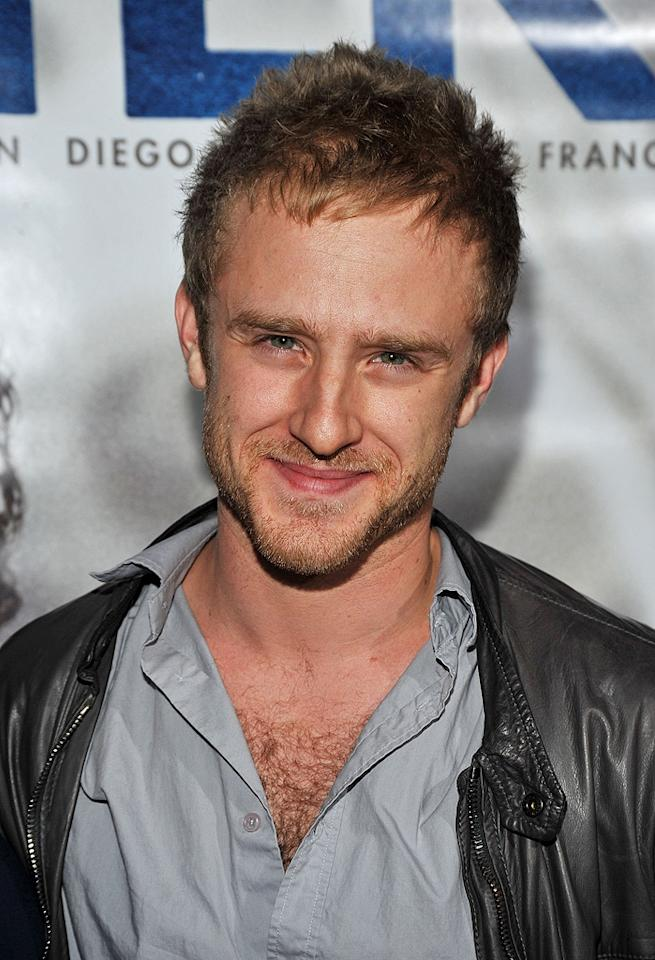 """<a href=""""http://movies.yahoo.com/movie/contributor/1800332837"""">Ben Foster</a> at the Los Angeles premiere of <a href=""""http://movies.yahoo.com/movie/1810041985/info"""">Milk</a> - 11/13/2008"""