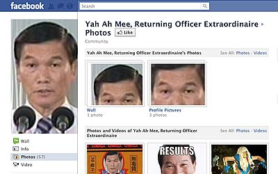 Yam Ah Mee's Facebook page. (Photo: Facebook screen grab)