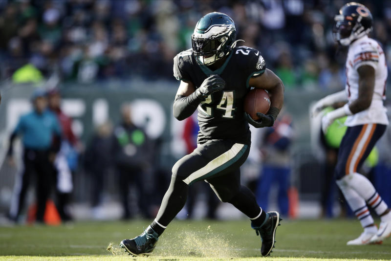 Relying On The Run Is Formula For Eagles Success