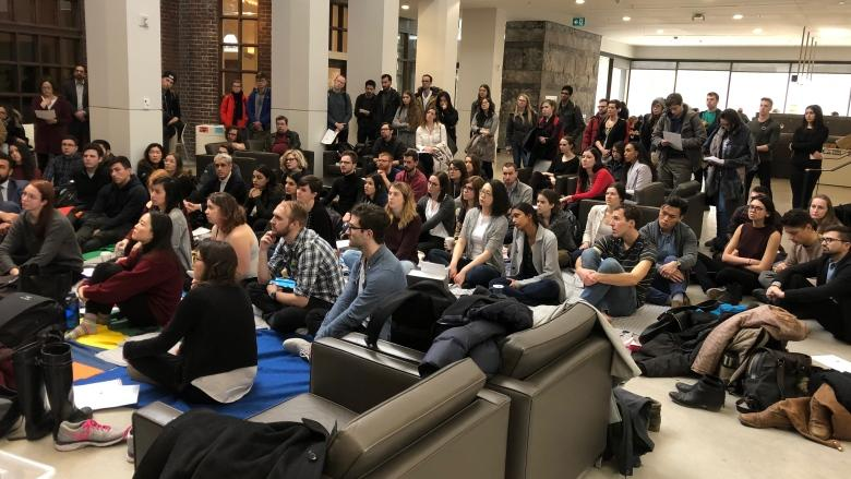 U of T law students walk out of class for teach-in on Colten Boushie, Tina Fontaine cases