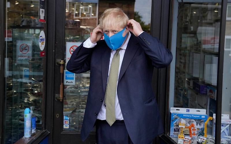 Boris Johnson visits his constituency - Andrew Parsons/ Parsons Media