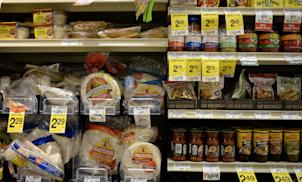 International food aisle of a grocery store: Credit AP