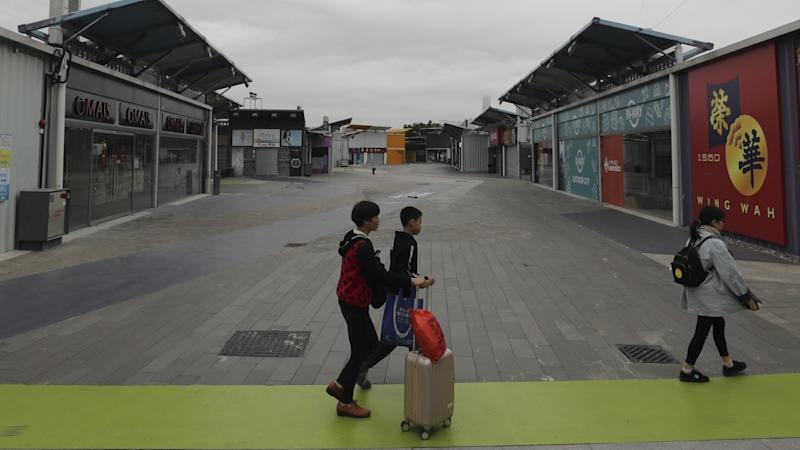 Arrival of mainland Chinese tourists brings hope to struggling Hong Kong border mall The Boxes