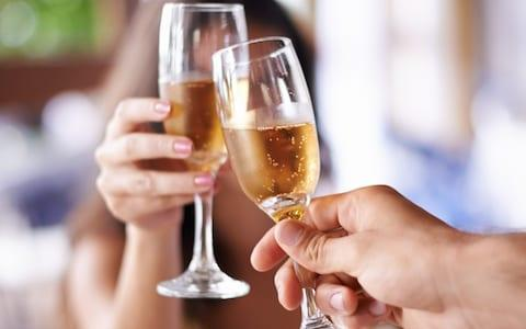 Champagne is back on form in the UK market - Credit: Getty