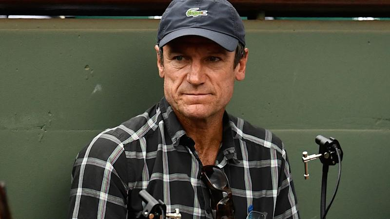 Mats Wilander, pictured here at the 2017 French Open.