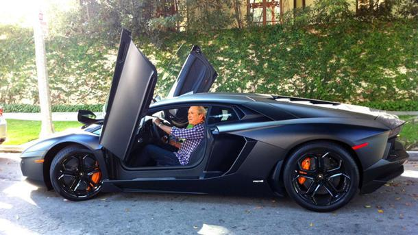 Good Todayu0027s Hot Car Rumor: Former U.S President George W. Bush Bought One Of  The First American Copies Of The Lamborghini Aventador, The $400,000, ...