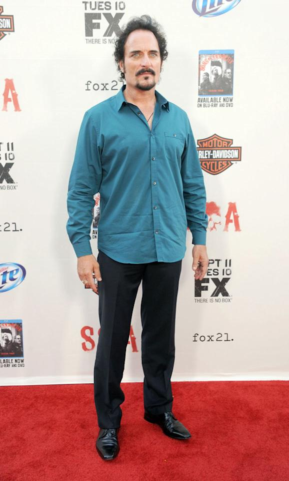 """Kim Coates attends the """"Sons of Anarchy"""" Season 5 premiere screening at Westwood Village on September 8, 2012 in Los Angeles, California."""