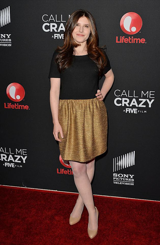 "Melissa Farman attends the premiere of Lifetime's ""Call Me Crazy: A Five Film"" at Pacific Design Center on April 16, 2013 in West Hollywood, California."