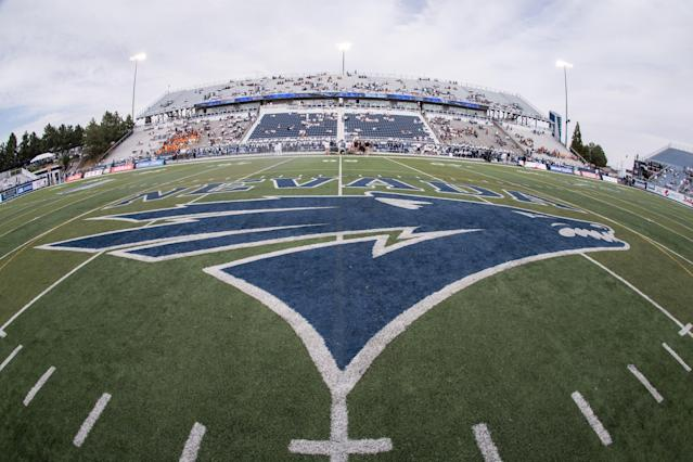 Mackay Stadium was redesigned ahead of the 2016 season and changes continue to be made to the renovations to make the stadium ADA compliant. (Getty Images)