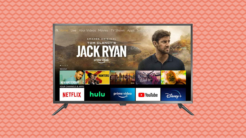 Save 33 percent on the Insignia NS-24DF310NA21 24-inch Smart HD TV—Fire TV Edition. (Photo: Amazon)