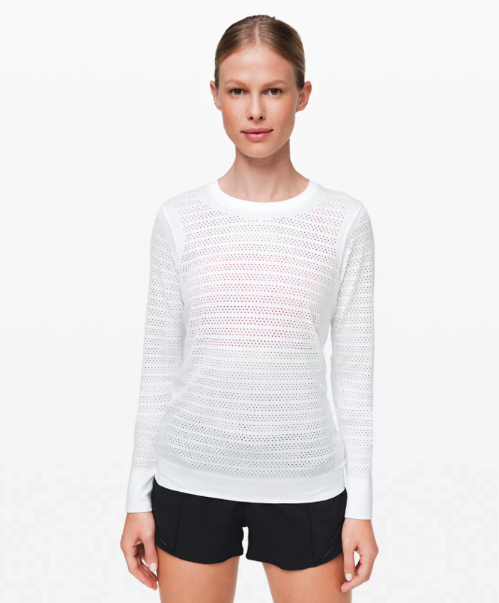 Breeze By Long Sleeve. Image via Lululemon.