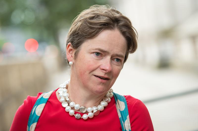 Baroness Dido Harding, executive chair of NHS Test and Trace, in Westminster, London. (Photo: PA)