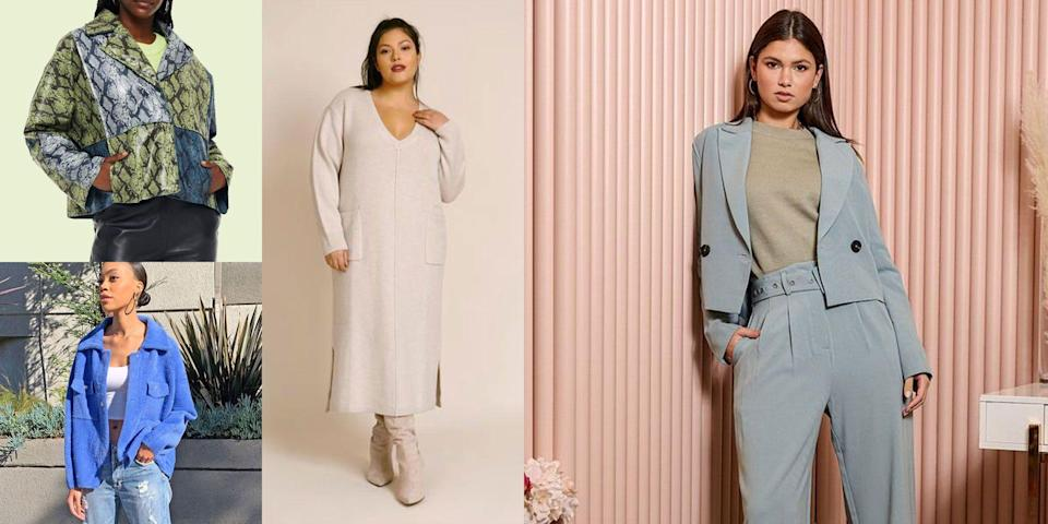 """<p>We're very close to the official start of <a href=""""https://www.cosmopolitan.com/spring-fashion/"""" rel=""""nofollow noopener"""" target=""""_blank"""" data-ylk=""""slk:spring"""" class=""""link rapid-noclick-resp"""">spring</a> (it's on March 20, btw), and many of us are going on a year of our <a href=""""https://www.cosmopolitan.com/style-beauty/fashion/g31677927/work-from-home-essentials/"""" rel=""""nofollow noopener"""" target=""""_blank"""" data-ylk=""""slk:work from home"""" class=""""link rapid-noclick-resp"""">work from home </a>lifestyles. But you might be tired of wearing the same T-shirt and <a href=""""https://www.cosmopolitan.com/style-beauty/fashion/g32178213/best-black-leggings/"""" rel=""""nofollow noopener"""" target=""""_blank"""" data-ylk=""""slk:legging"""" class=""""link rapid-noclick-resp"""">legging</a> combo day after day while racking up your screen time and soaking up all that <a href=""""https://www.cosmopolitan.com/style-beauty/beauty/a22997321/ways-your-smartphone-addiction-is-ruining-your-skin/"""" rel=""""nofollow noopener"""" target=""""_blank"""" data-ylk=""""slk:blue light"""" class=""""link rapid-noclick-resp"""">blue light</a>. (I know I am.) So we rounded up some new spring work outfits to get you inspired and motivated to get sh*t done. And if not, at least you'll look cute while procrastinating! </p><p>Whether you have a huge presentation you're in charge of (you got this!) or you're struggling with the constantly changing spring temps outside, we've got plenty of options for you. While some of these skew more on the casual side under these pandemic circumstances, there are also some dressier styles to choose from, and remember that accessories can always take a low-key look to the next level. </p><p>Whatever your situation, changing seasons are always a good excuse to do some more shopping and freshen up that wardrobe—just make sure you give a good home to any clothes you get rid of to make more room in your closet! Here, 18 cute spring work outfit ideas to shop rn. (Also! If you don't wanna miss out on any trends, browse all the 2021 <a"""