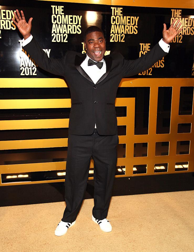 Tracy Morgan attends The Comedy Awards 2012 at Hammerstein Ballroom on April 28, 2012 in New York City.