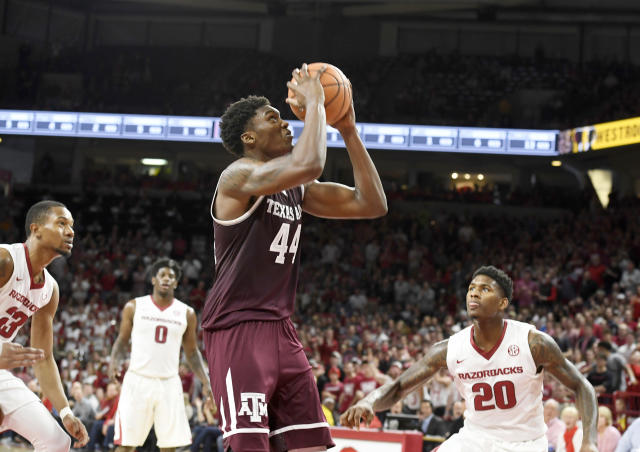 It's been a stressful few days for Robert Williams. (AP Photo)