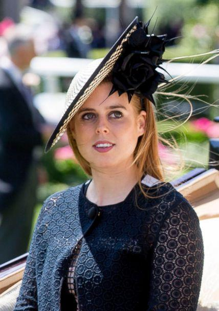 PHOTO: Princess Beatrice at Royal Ascot, June 21, 2018, in Ascot, U.K. (REX via Shutterstock)