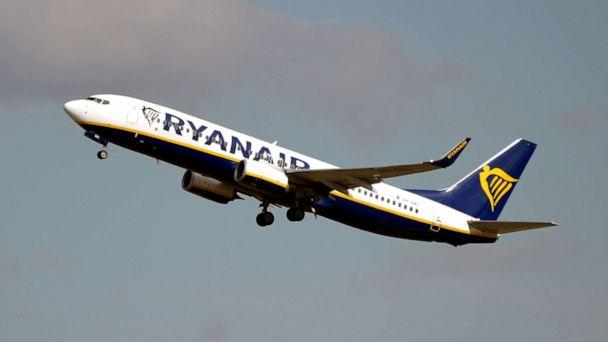 PHOTO: This picture taken on September 27, 2019 shows an Boeing 737 NG / Maxof Irish Low Cost compagny Ryanair after taking off from the Toulouse-Blagnac airport, near Toulouse. (Photo by PASCAL PAVANI / AFP)PASCAL PAVANI/AFP/Getty Images (Pascal Pavani/AFP/Getty Images)