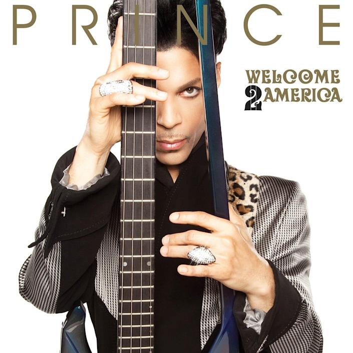Previously unreleased Prince album Welcome 2 America to debut July 30