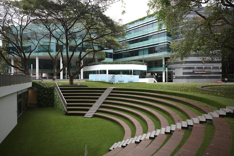 Singapore Management University at 81 Victoria Street. (Yahoo News Singapore file photo)