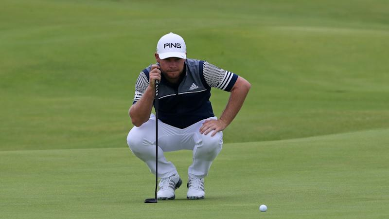 Tyrrell Hatton grabs share of the lead headed into final round at RBC Heritage