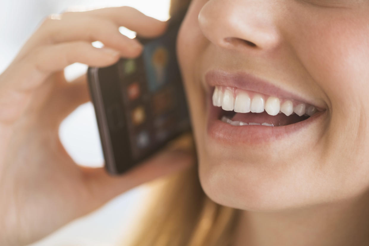 A phone screen could easily become contaminated with the coronavirus. (Stock, Getty Images)