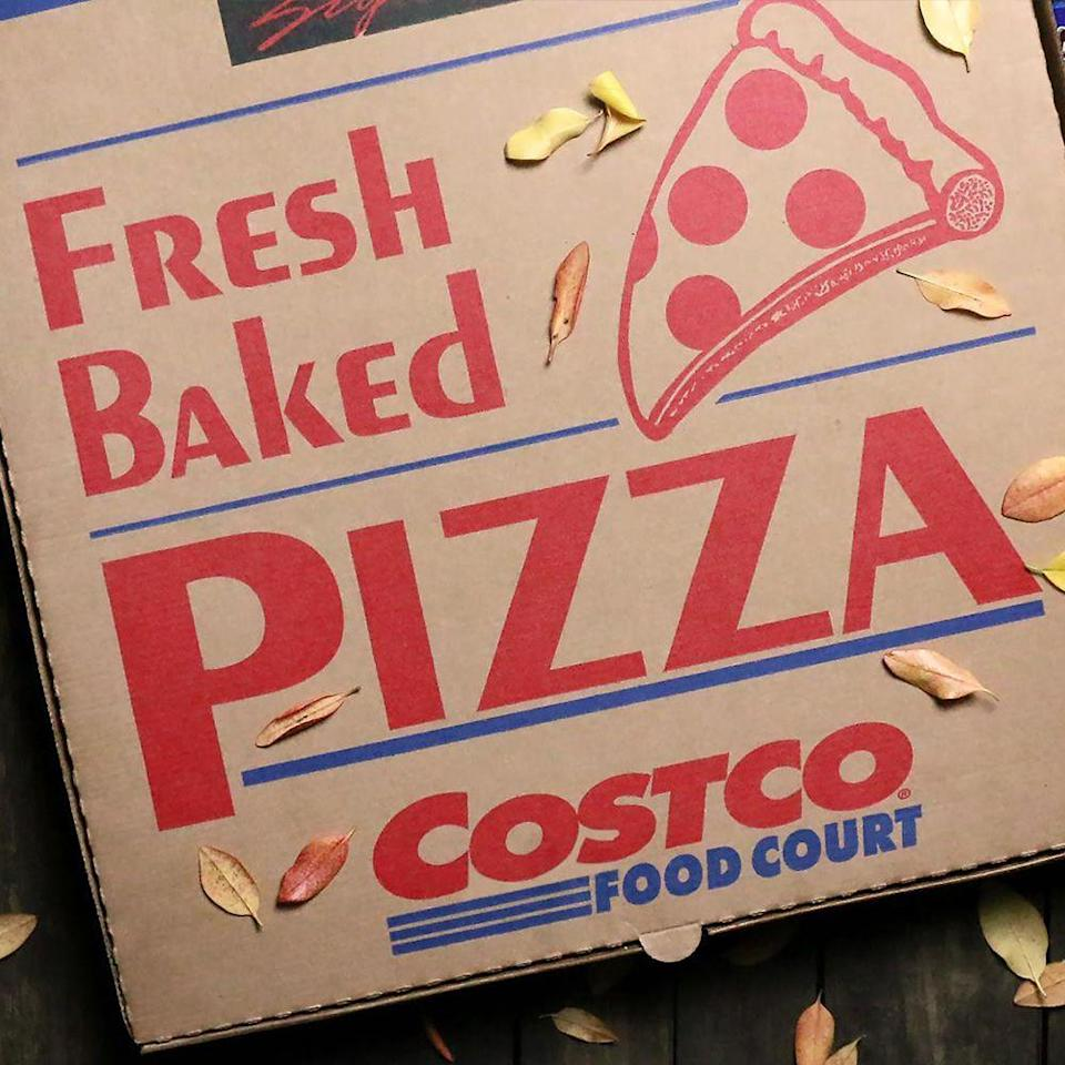 """<p>You might not think of Costco as a pizza chain, but it's one of the biggest in the U.S. With 400-plus stores, Costco is only a bit behind Cicis and Chuck E. Cheese <a href=""""https://www.huffpost.com/entry/costco-things-you-didnt-know_n_4725587?utm_source=reddit.com"""" data-ylk=""""slk:in quantity of retail locations"""" class=""""link rapid-noclick-resp"""">in quantity of retail locations</a>.</p>"""