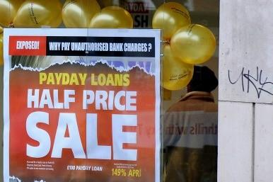 Payday loan advert