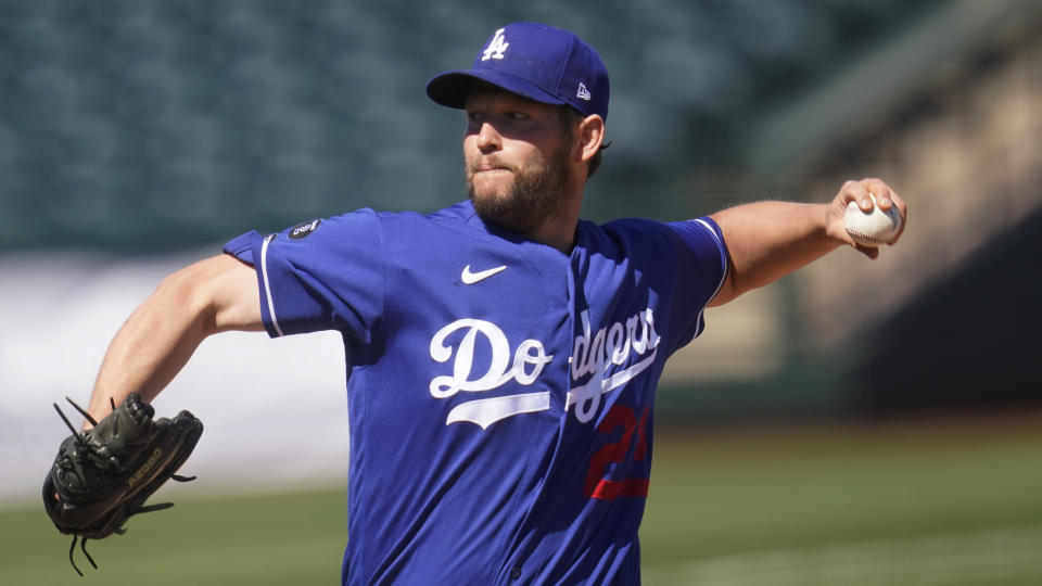 Los Angeles Dodgers' Clayton Kershaw