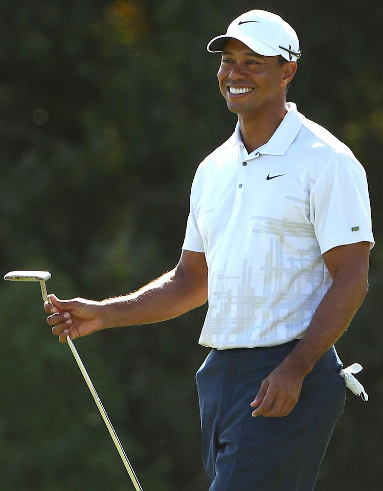 Tiger Woods turns 36 on December 30.