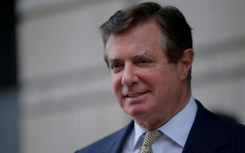 Former Trump campaign chairman Paul Manafort - REUTERS