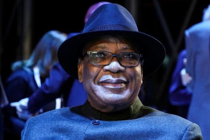 Under pressure: President Ibrahim Boubacar Keita, known by his initials as IBK (AFP Photo/ludovic MARIN)