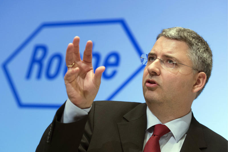Roche blockbuster sales boost first-half profits
