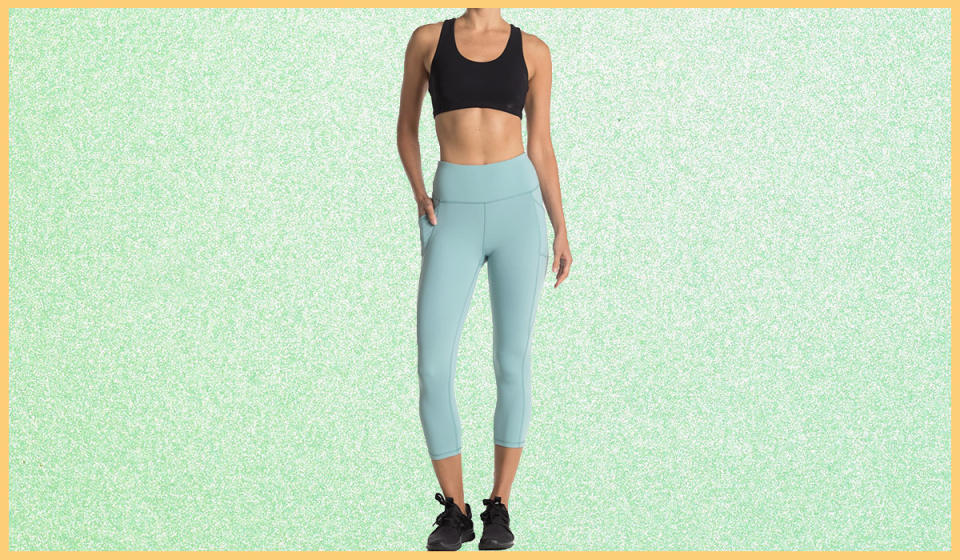 Top-rated leggings for just $13? You better believe it. (Photo: Nordstrom Rack)