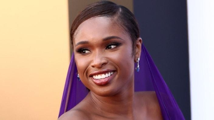 """Jennifer Hudson attends the premiere of MGM's """"Respect"""" at Regency Village Theatre last month in Los Angeles, California. (Photo by Matt Winkelmeyer/Getty Images)"""