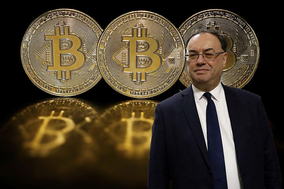 Bank chief Andrew Bailey launches crackdown on crypto (PA)