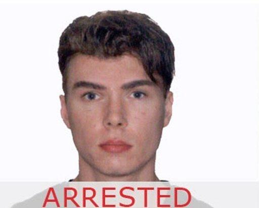 The Interpol website notes the arrest of Canadian murder suspect Luka Rocco Magnotta