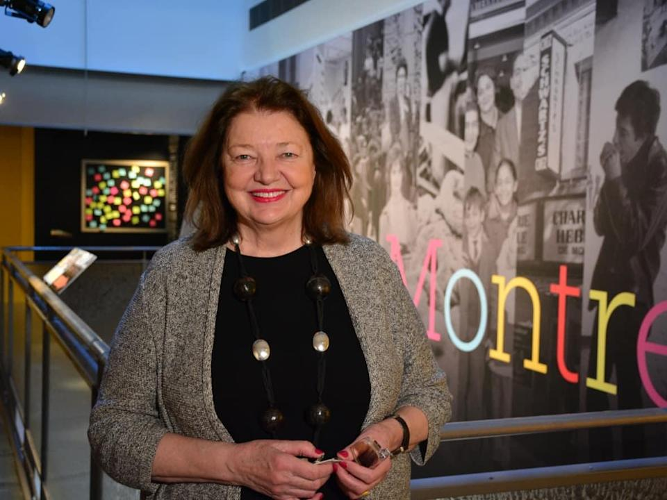 President and CEO of the McCord Museum Suzanne Sauvage said the museum is now looking ahead to its next century of programming. (Charles Contant/CBC - image credit)
