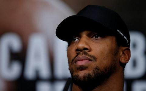 Anthony Joshua & Alexander Povetkin Press Conference - Credit: Andrew Couldridge/Reuters
