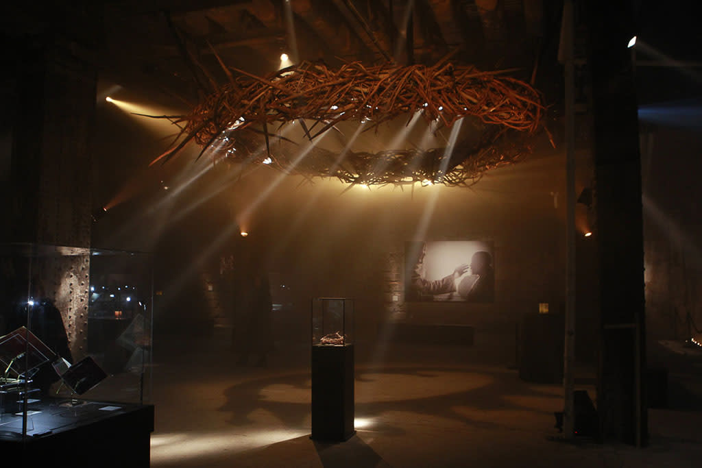 Atmosphere  at The Bible Experience, a rare exhibit of biblical artifacts, in New York City on Tuesday, March 19 in New York.