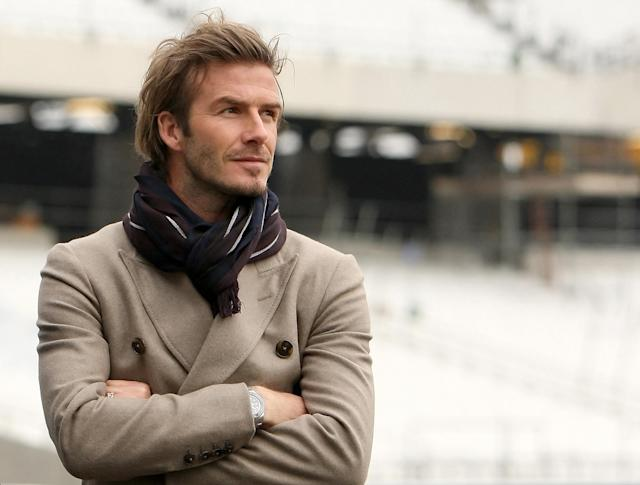 File photo dated 29/11/2010 of David Beckham during a visit to the Olympic Stadium.