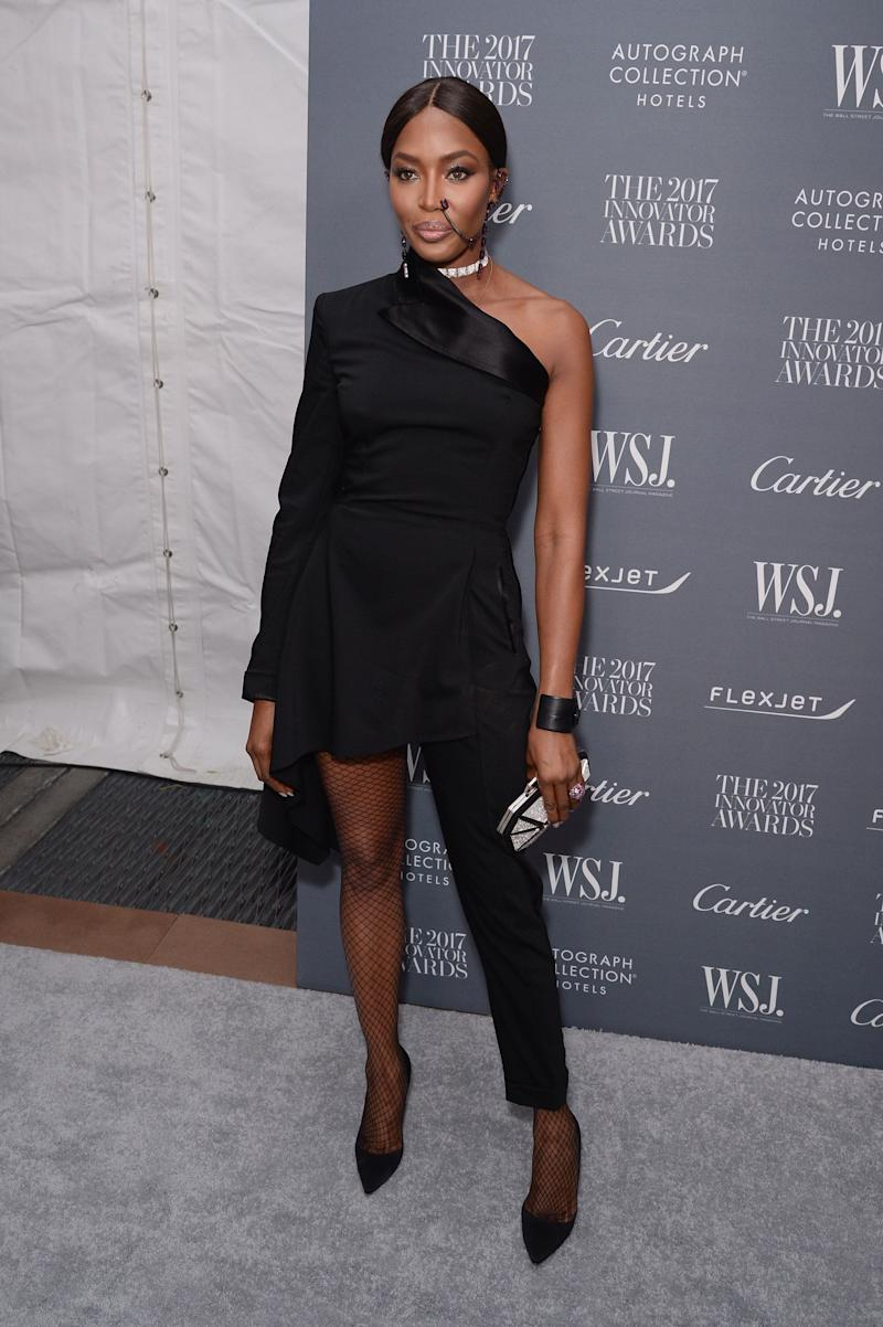 Naomi Campbell attends the WSJ. Magazine 2017 Innovator Awards at MOMA on Nov. 1 in New York City.