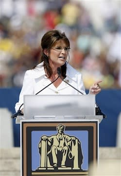 Sarah Palin at Glenn Beck Rally