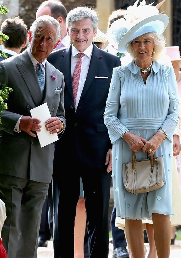 A report claims Kate Middleton is fuming at Camilla's attentions towards her dad, Michael. Photo: Getty images