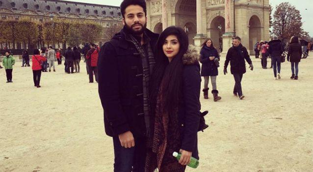 Ayesha and Saleem were starting their lives together as parents. Source: Go Fund Me