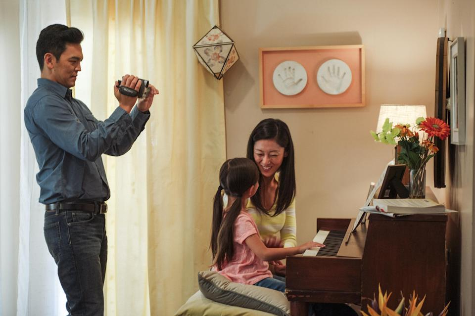 It's rare to see an Asian-American family take centre stage in a studio movie