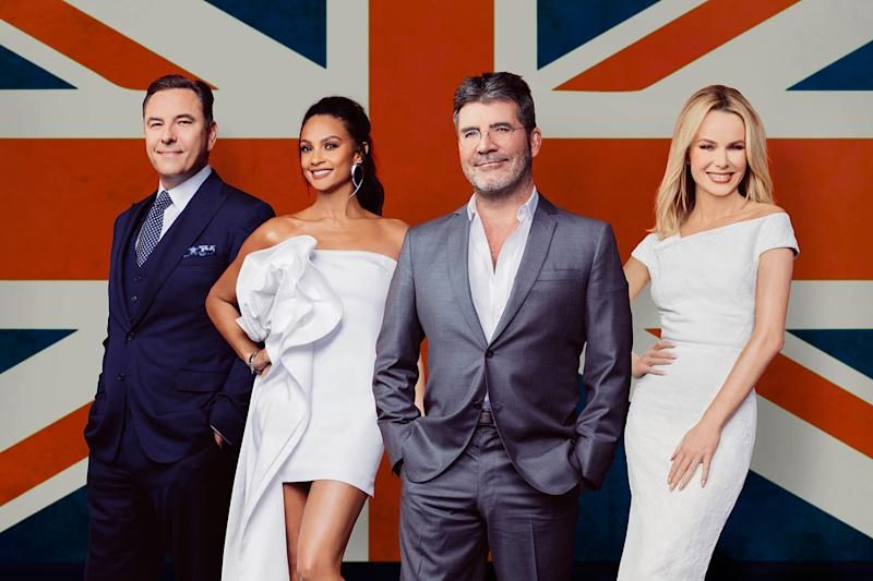 They're back: Simon Cowell and his fellow judges return for Britain's Got Talent Series 11: Thames / Syco Entertainment