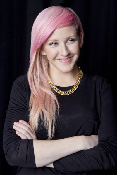 "This Sept. 14, 2012 photo shows English singer-songwriter Elena Jane ""Ellie"" Goulding posing for a portrait in New York. Goulding's debut, ""Lights,"" was released in February 2010 in Europe and March 2011 in the United States. This year, however, the title track peaked at No. 2 on Billboard's Hot 100 chart and has sold more than 3.3 million units in America. The electro-dance track is one of the year's top songs. (Photo by Amy Sussman/Invision/AP)"