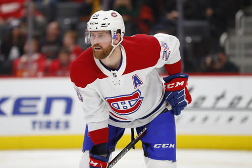Canadiens sign defenseman Jeff Petry to 4-year extension