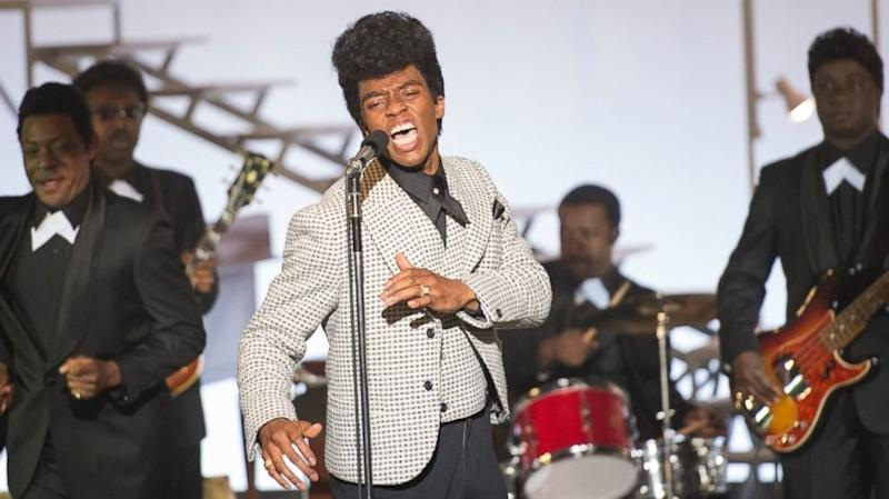 "Chadwick Boseman stars in ""Get On Up."" (Universal Pictures)"
