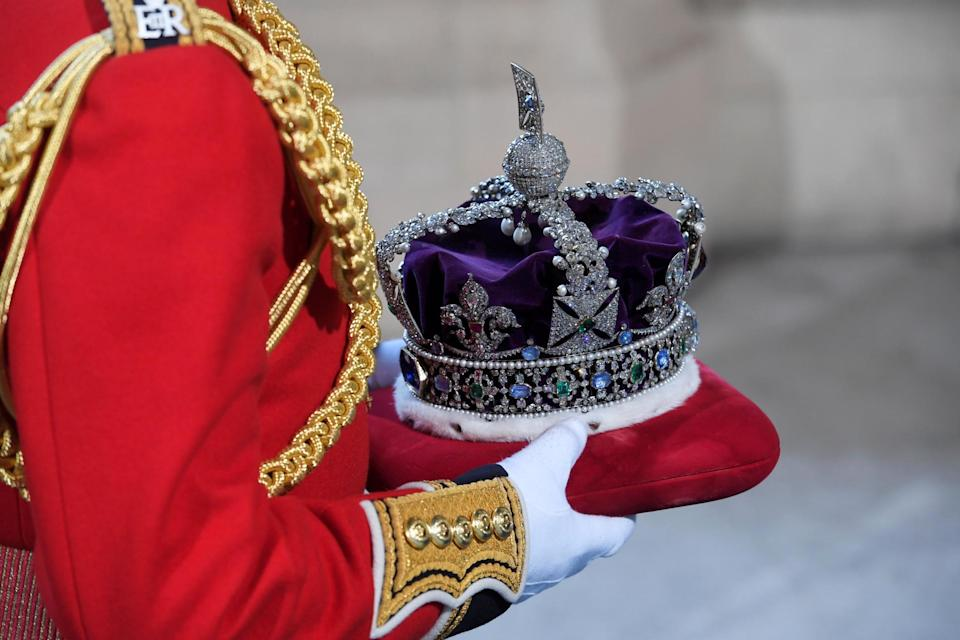 The Imperial State Crown is part of the Crown Jewels collection (Getty Images)